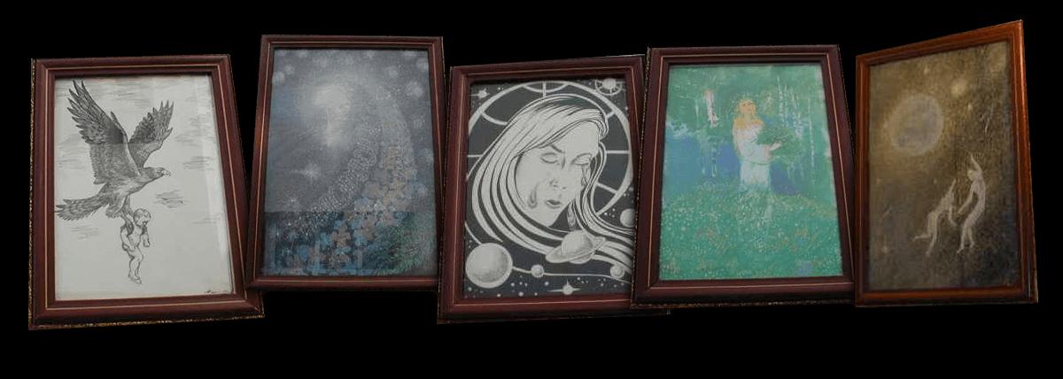 Slike o Anastaziji koje su čitatelji darovali Fondu Anastazija